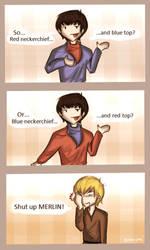 Merlin's neckerchiefs by Star-Jem