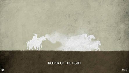 Dota 2 - Keeper of the Light Wallpaper by sheron1030
