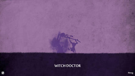 Dota 2 - Witch Doctor Wallpaper by sheron1030