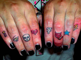 Fingers Tattoo by TomRodrigues76