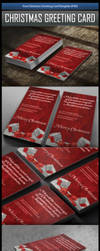 Free Christmas Greeting Card Template (PSD) by MGraphicDesign