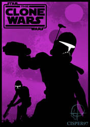 STAR WARS The Clone Wars poster (season 4) by Cisper97