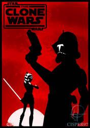 STAR WARS The Clone Wars poster (season 5) by Cisper97