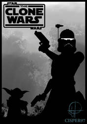 STAR WARS The Clone Wars poster (The lost missions by Cisper97