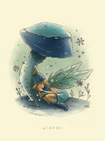 Faerie Seasons: Winter by mikemaihack