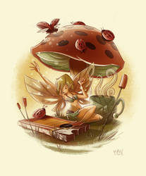 Chocolate Faerie by mikemaihack