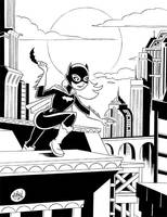 Batgirl Rooftop by mikemaihack