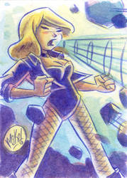 PSC: Black Canary by mikemaihack