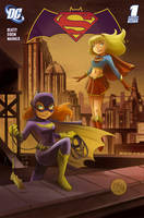 Supergirl Batgirl 1 by mikemaihack