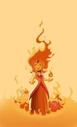 Flame Princess by mikemaihack