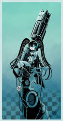 Black Rock Shooter by mikemaihack