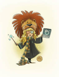 Luna Lovegood by mikemaihack