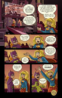 Batgirl Supergirl Election Comic by mikemaihack