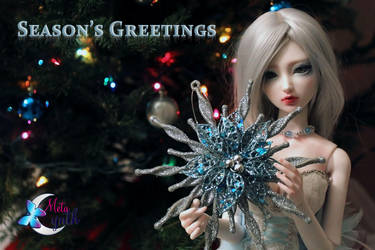 Ice Queen's Season's Greetings by MetaCynth