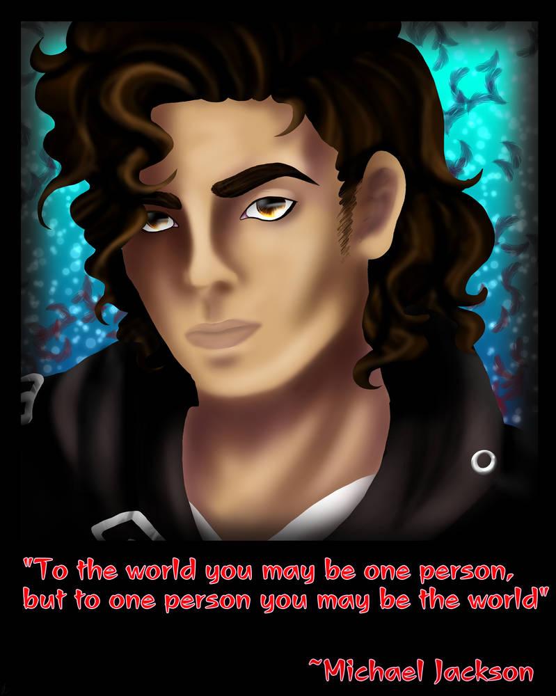 Michael Jackson by sakuwolf666