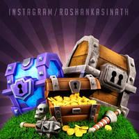 Clash Royale Rewards Chest by roshankasinath