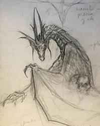 Dragon by AKikkaKikka