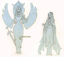 Zelda - Hylia Concept by hadece