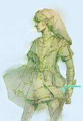 Link Costume Concept (Ocarina of Time) by hadece