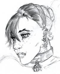 Soma Yorkiv sketch by kurawolf