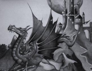 Dragon by SilverWarrior