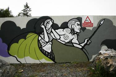 Grainne and Diarmuid by Frizelle