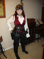 Lady Airship Pirate by gollumsalterego