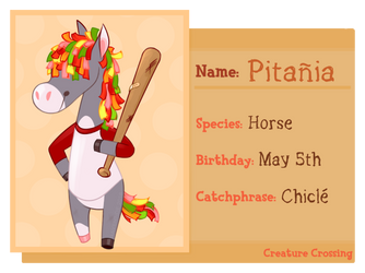 :Creature Crossing: Pitania Villager Application by Haventide