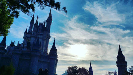 Cinderella's Castle by Digital-Jedi