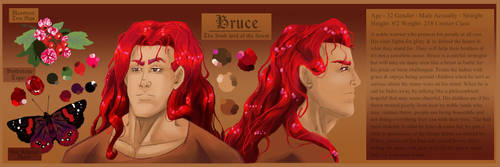 Bruce the Irish lord of the forest by ParadiseofDarkness