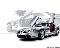 SLR McLaren Wallpaper II by taw