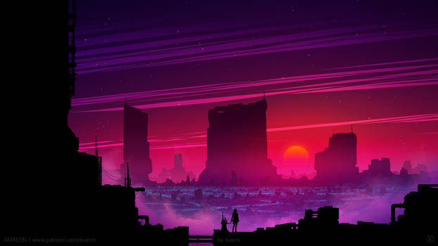 Synthwave View by kvacm