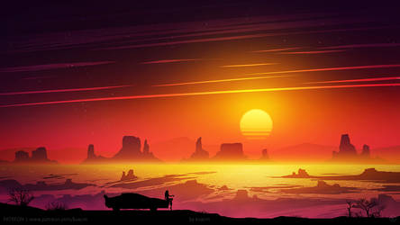 Outrun West by kvacm