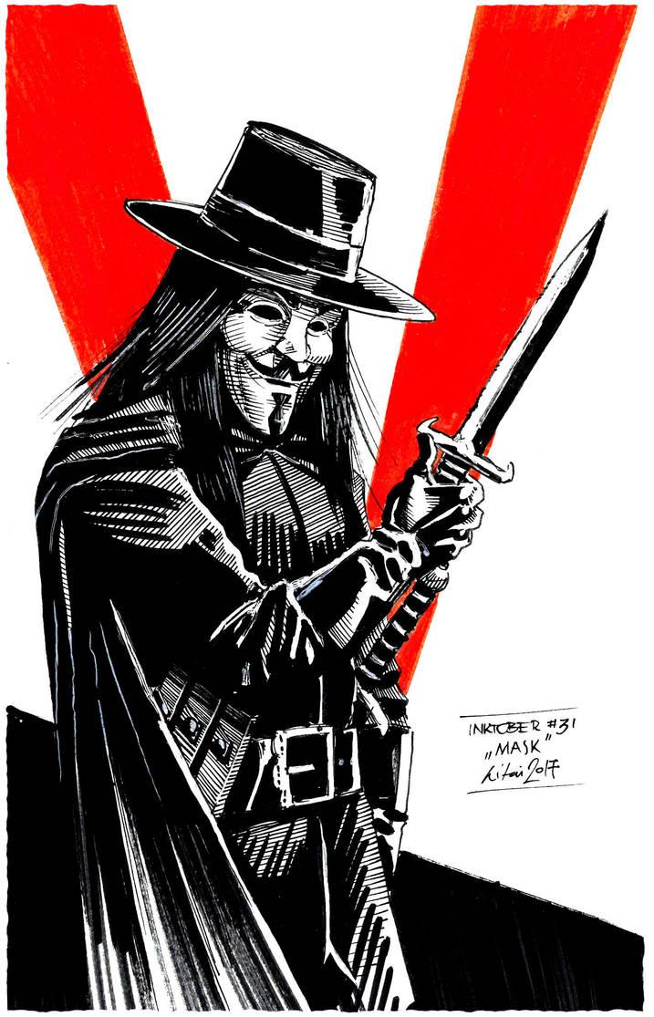 V for Vendetta by smuzliprof