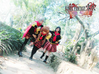 Final Fantasy Type-0 Girls 15 by YukitsuruKiria