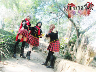 Final Fantasy Type-0 Girls 16 by YukitsuruKiria