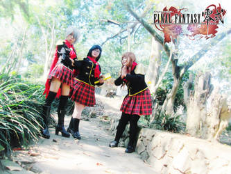 Final Fantasy Type-0 Girls 17 by YukitsuruKiria