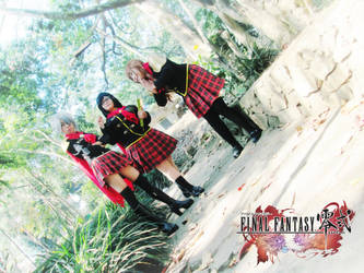 Final Fantasy Type-0 Girls 18 by YukitsuruKiria