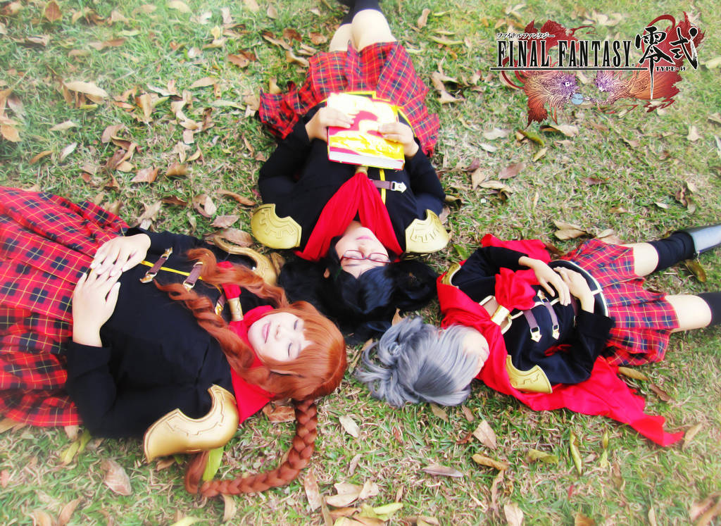 Final Fantasy Type-0 Girls 24 by YukitsuruKiria