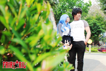 Gray Fullbuster 'n Juvia Lockser (Fairy Tail) 297 by YukitsuruKiria