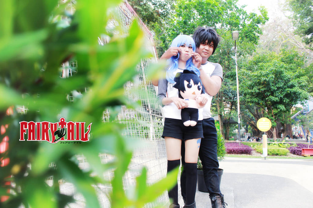 Gray Fullbuster 'n Juvia Lockser (Fairy Tail) 298 by YukitsuruKiria