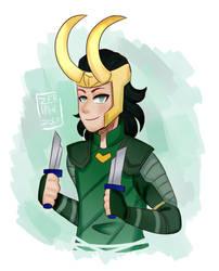 MCU: Loki by Zeriphi