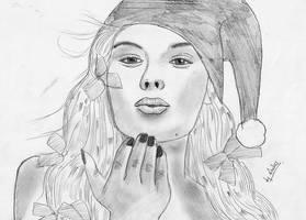 santa girl.. by 075130
