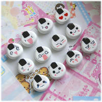 Custom Onigiri Magnets by Keito-San