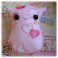 Scented Valentines Plushie by Keito-San