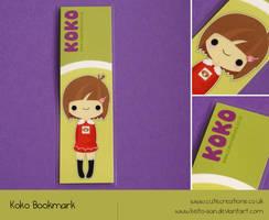Koko Bookmark Printed by Keito-San