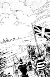 28 Days Later Issue 4 Page 1 by DeclanShalvey