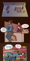 Korra and Asami Adventure: p4 by Artsypencil