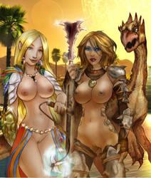 Girls of Dark Sun II by Maelora69