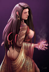 Forbidden Fortress: Sumiko Goto by EverHobbes NSFW by Maelora69
